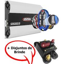 Amplificador Soundigital Sd5000-5000w Rms + Sx2 Stetsom