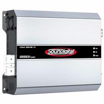 Módulo Amplificador Soundigital Sd5000.1d Evo 1 Ohm 5000wrms