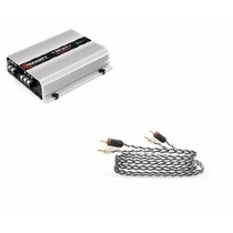 Modulo Taramps T800.1 Compact 1 Canal 800w Rms + Rca 5m Plus