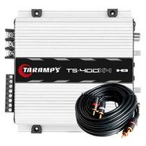 Modulo Taramps Ts400 X4 Digital De 400w Rms
