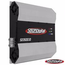 Sound Digital Potencia 3500w 3500 Rms!