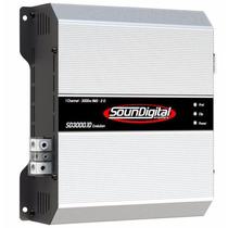Módulos Soundigital Sd-3000 1 Ohm + Sd-1600 2 Ohms + Sd-400