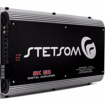Módulo Amplificador Stetsom 9k Eq 9000w Rms Mono 2 Ohms
