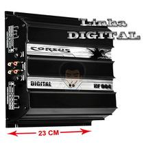 Modulo Ampl. Digital Corzus Hf 604 600w Rms 4 Canais