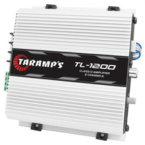 Módulo Amplificador Taramps Tl-1200 260w Rms 2 Canais 2 Ohms