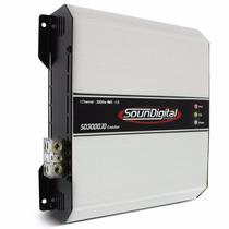 Novo Sd3000 Evolution 1 Canal 3000wrms 1 Ohm 3k Sd 3000 Evo