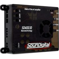 Modulo Soundigital Sd400.1 Sd 400 Sd400 400.1 1 Ohm / 2 Ohm