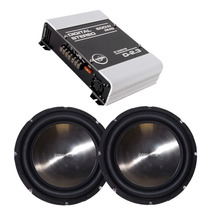 Kit 2 Subwoofer Bossound 12 700w + Módulo Boog D 2.3