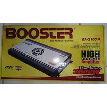 Módulo Booster Ba - 2100 .4 - 3000w 4 Canais Mosfet Novo