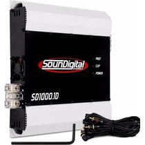 Modulo Soundigital 1000w Rms Sd1000.1d Amplificador Digital
