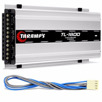 Potencia Automotiva Taramps Tl1800 530w Rms 3 Canais Tl 1800
