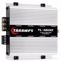 Modulo De Potencia Taramps Tl1200 2 Canais 260w Rms Digital