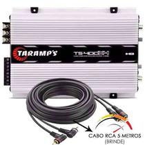 Modulo Taramps Ts400 X4 Digital De 400w Rms Som Carro