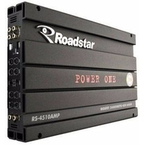 Modulo Roadstar Power One Amplificador Rs-4510 Mosfet Clas A