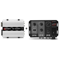Crossover Crx + Modulo Taramps Ts400 T400 X4 Digital Frete