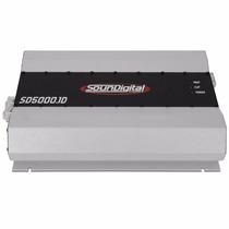 Modulo Automotivo Soundigital Sd5000 5000w Sd5k Mono 1 Ohm