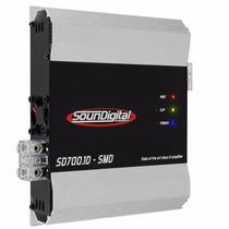 Modulo Soundigital Sd700.1 Amplificador 700wrms 1 Canal Mono