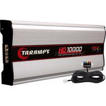 Módulo Amplificador Taramps Hd10000 W Rms + Voltímetro