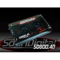 Modulo Amplificador Soundigital Sd800 800rms Taramps Stetson