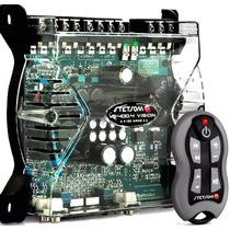 Amplificador Dig Stetsom Vs400.4 Mini 400 Rms + Controle Sx1