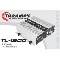 Taramps Tl-1200 2 Canais Stereo Ou 1 Bridged 260wrms + Frete