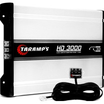 Modulo Taramps Hd 3000 3000w Rms 1 Canal 2 Ohms Amplificador