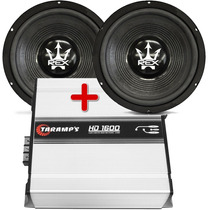Combo 02 Subwoofer Magnum 15 800 Wrms + Amp. Taramps Hd 1600