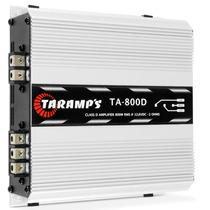 Módulo Amplificador Taramps Hd800 Potencia Carro Som 800 Rms