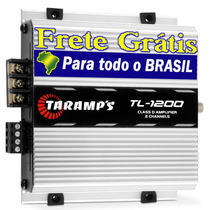 Modulo Amplificador Tl-1200 Taramps 260w Rms 2 Canais Rca