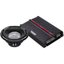 Kit Amplificador Novik Ank1412 + Alto Falante 12 Pol 250w