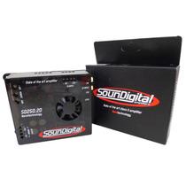 Módulo Soundigital Sd250.2d - 2 Canais 250w Rms Stereo/mono
