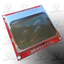 Modulo Display Lcd Gráfico 84x48 Nokia 5110