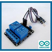 Relé 2 Canais 5v + Cabo + Exemplo - Arduino Pic Automação