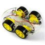 Chassis Acrilico Robo / Robotica / Smart Car 4 Motores 4wd