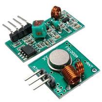 Módulo Rf Transmissor + Receptor 315mhz Am P/ Arduino - Pic