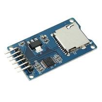Módulo Leitor Gravador Micro Sd P/ Arduino Pic Atmel Microsd