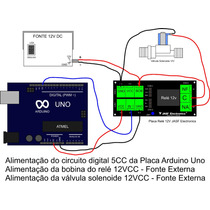 Placa Rele 12v Ideal Para Arduino Uno, Mega