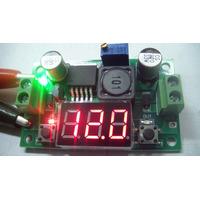 Fonte Regulável Com Display Lm2596 Dc/dc 4,5-35v P/ 1,25-30v