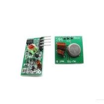 Módulo Rf Transmissor Receptor 433mhz Am Arduino Pic Avr