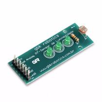 Módulo Sensor De Luz Com Sequencial De Leds Para Arduino