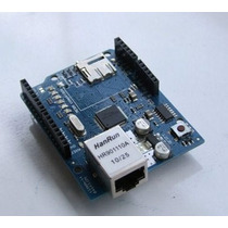 Arduino Shield W5100 Ethernet Leitor Micro Sd Rede Internet