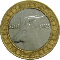 Argélia - 50 Dinares 2004 (bimetálica)
