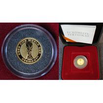 Moeda De Ouro 999.9 Copa Da Alemanha 2006 Fifa Com Estojo