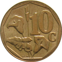 África Do Sul - 10 Cents 2003