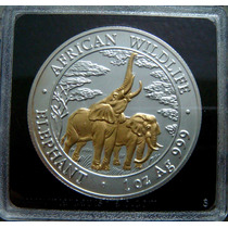 Moedas - Zambia - 5000 Kwacha 2003 - Proof - Bimetálica