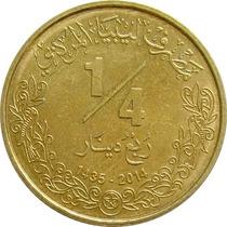Líbia - 1/4 Dinar 2014