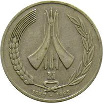 Argélia - 1 Dinar 1987 (independência)