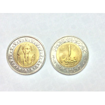 Moeda Egito 2005 One Pound