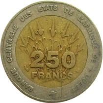 Estados Da África Ocidental - 250 Francos 1996