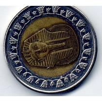 Moeda De Coleção One Pound Egito